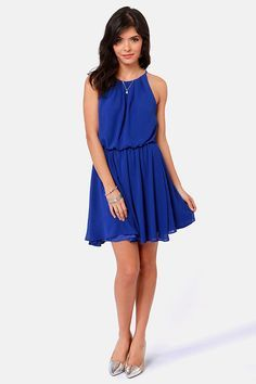Royal Blue Summer Dresses