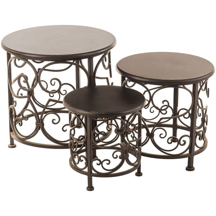 Round Black Scroll Metal Plant Stand Set Hobby Lobby In 2020 Metal Plant Stand Plant Stand Decor