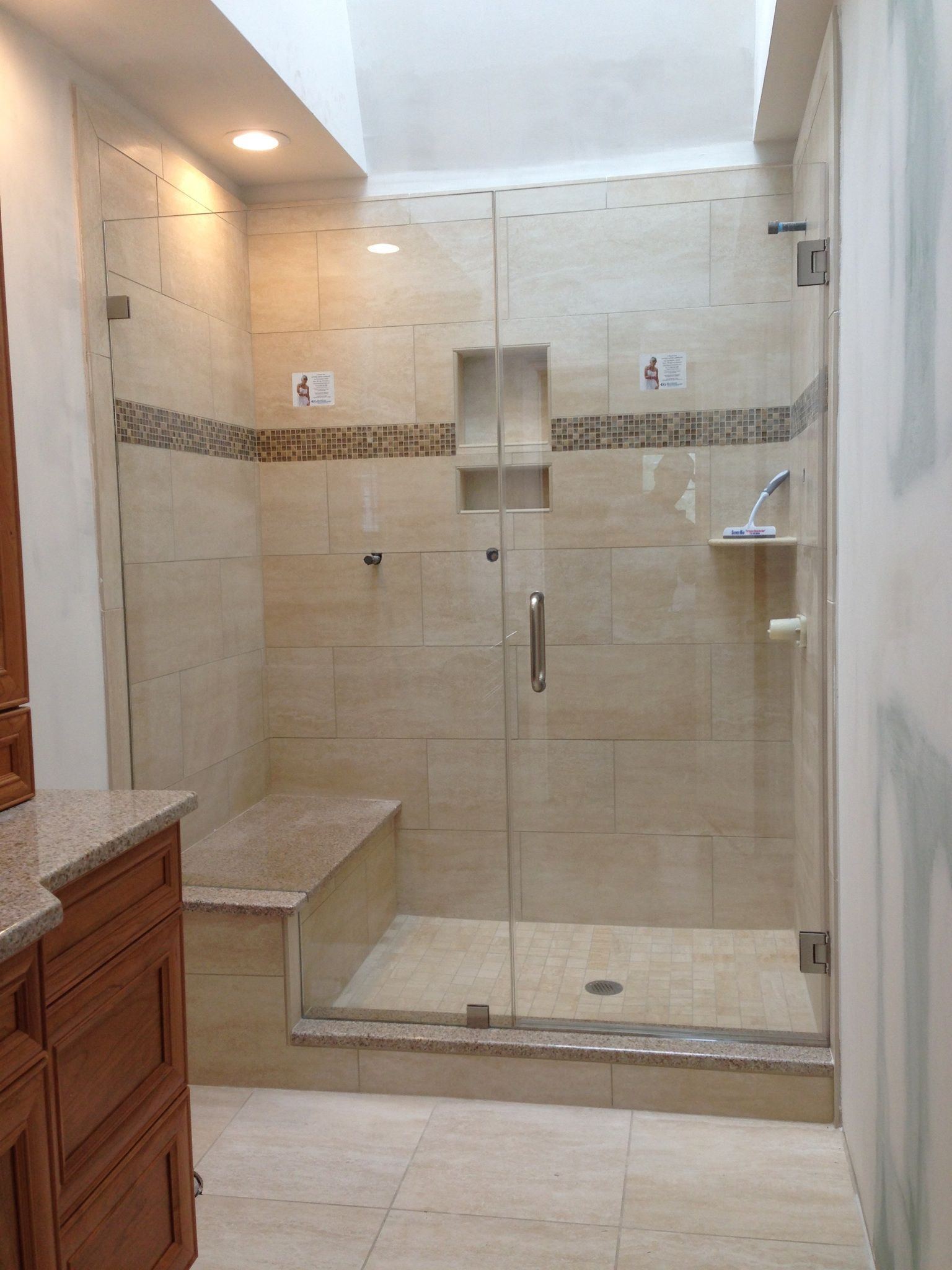 How Is This For A Bathroom This Is A Truly Frameless Showerman