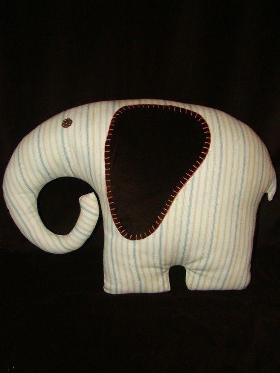 Lucky Elephant Pillow Pet - XL Large