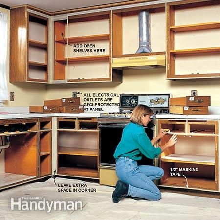 Best How To Refinish Kitchen Cabinets Refinish Kitchen 400 x 300