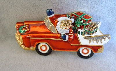 $14.95~~Santa always delivers presents in style! :)