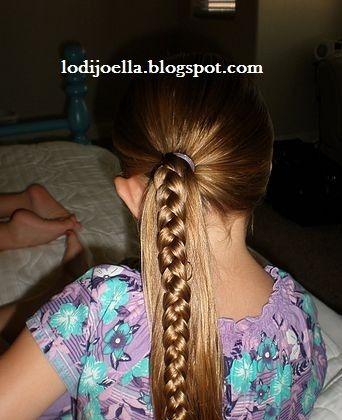 lodijoella: peinados bonitos para niñas | trenzas | pinterest