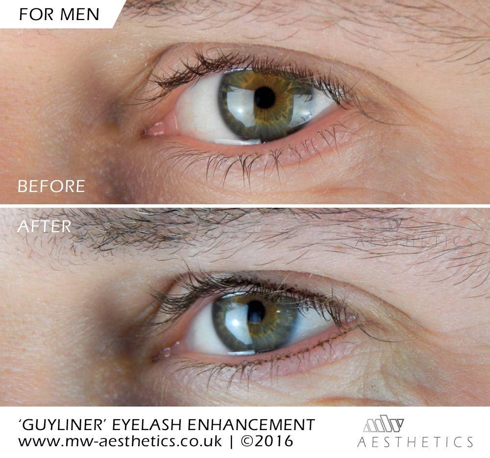 Guyliner semi permanent makeup for men Male makeup