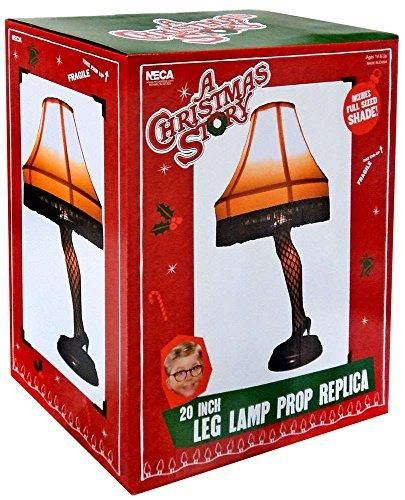 A Christmas Story 20 inch Leg Lamp Prop Replica by NECA in 2018
