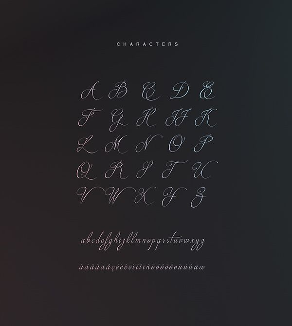 Brotherhood Script free font by Youssef Habchi, via Behance