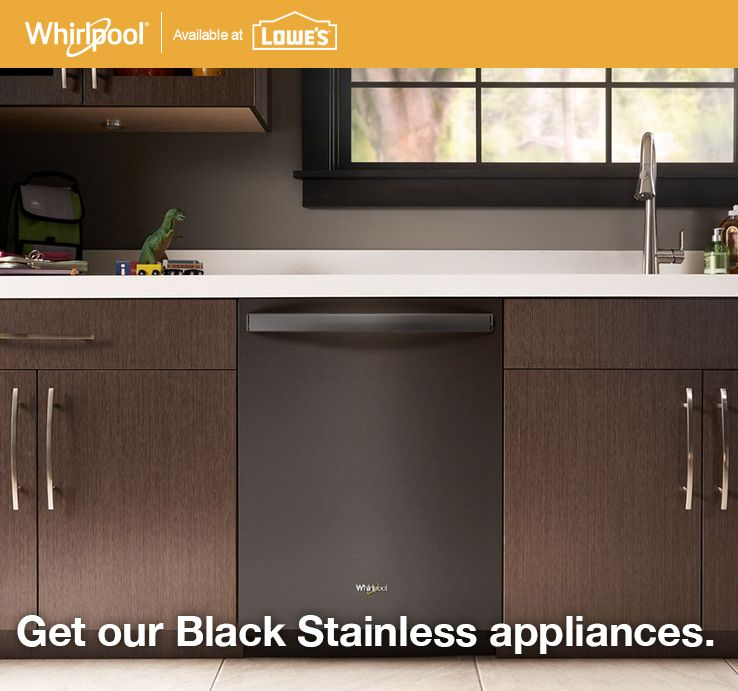 Black Stainless at Lowe\'s   Appliances   Modern kitchen ...