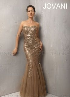 Vestido de Festa Longo em Paetê e Tule Karmina 6973 : Dstore Miami, Vestidos de Festa Importados