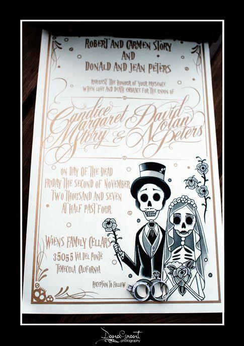top 10 colorful day of the dead wedding invitations – unitedarmy,