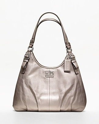 3af9874cd0a6 wholesale replica purses and handbags. COACH Madison Metallic Leather  Maggie | Bloomingdale's