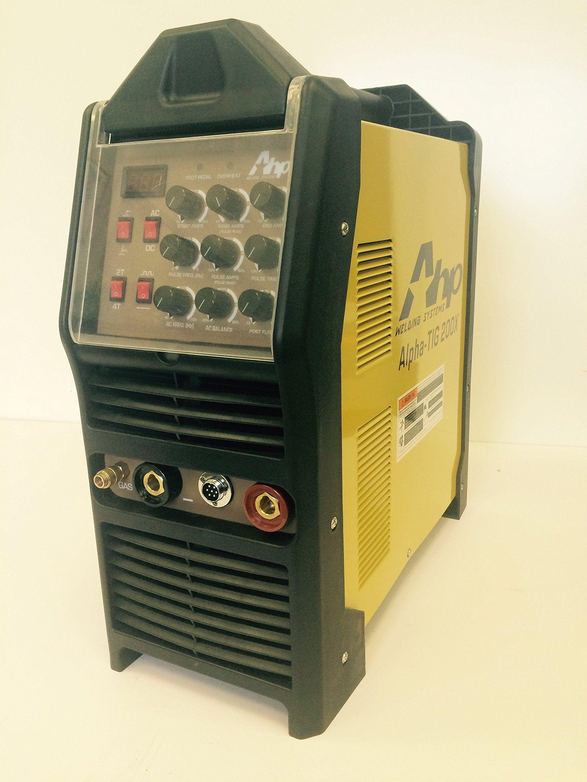 2015 AHP AlphaTIG 200X 200 Amp IGBT AC DC Tig/Stick Welder