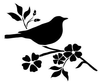 Pochoir imprimer recherche google pochoirs for Pochoir oiseau