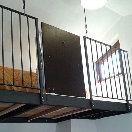 Scala retrattile per soppalco idee casa pinterest soppalco scala e idee - Scale retrattili a parete ...