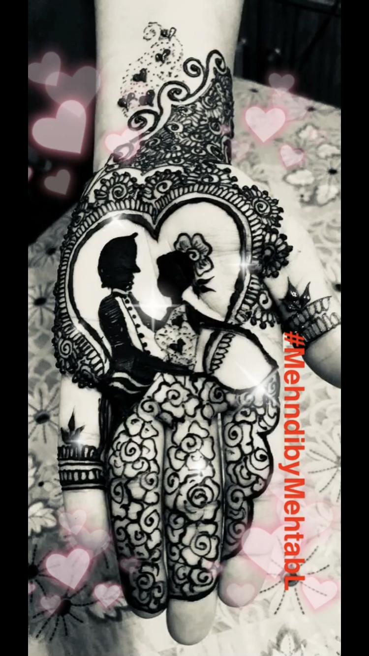 Beautiful Valentine S Day Henna Designs By Mehndibymehtabl