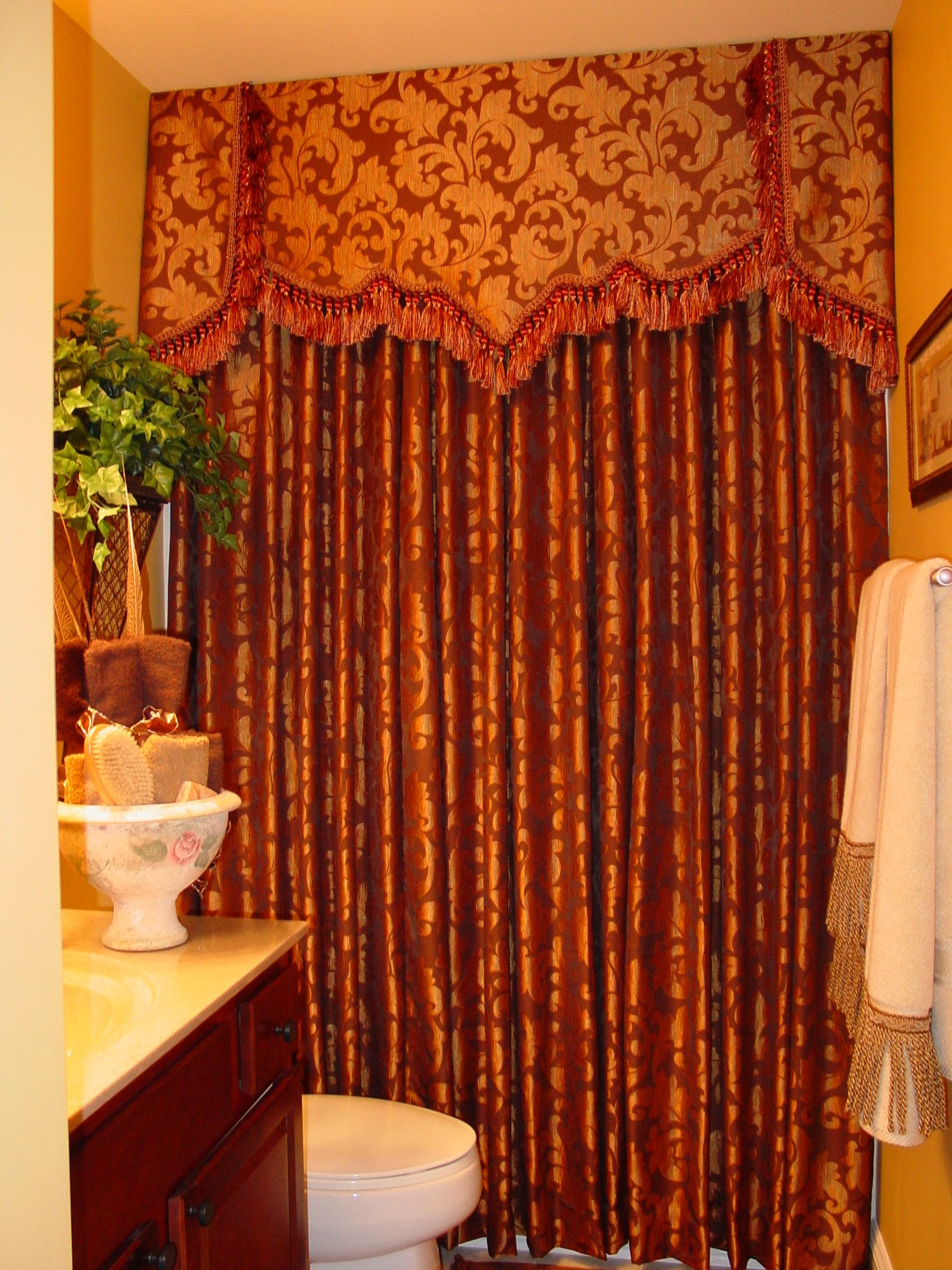 Custom Shower Curtain  Dianas Blinds  Designs jobs my