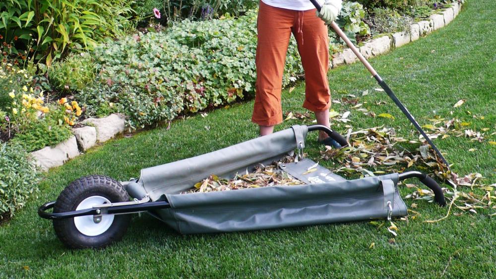 Wheeleasy Foldable Canvas Wheelbarrow, Allsop Home And Garden Wheeleasy