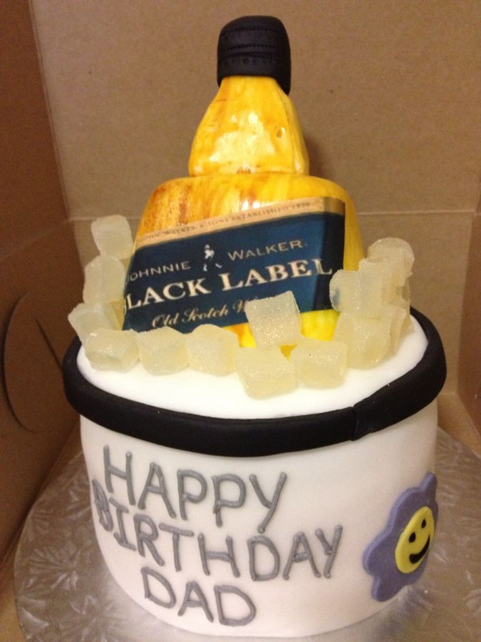 Cakes With Bottles Of Liquor Alcohol Bottle Party Ideas