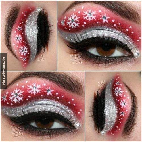 DIY: Christmas-Makeup <3