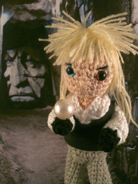Jareth, King of goblins David Bowie in Labyrinth amigurumi Moñacos ...