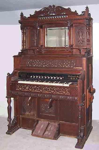 Farrand & Votey Organ Company Pump organ, Organ music, Piano