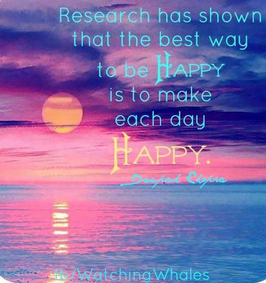 Happiness quote via