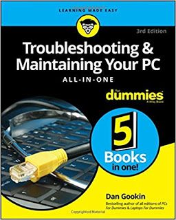 Computer Hardware Book Troubleshooting And Maintaining Your Pc All In One For Dummies Textbooks Online With Images Dummies Book What To Read Ebook
