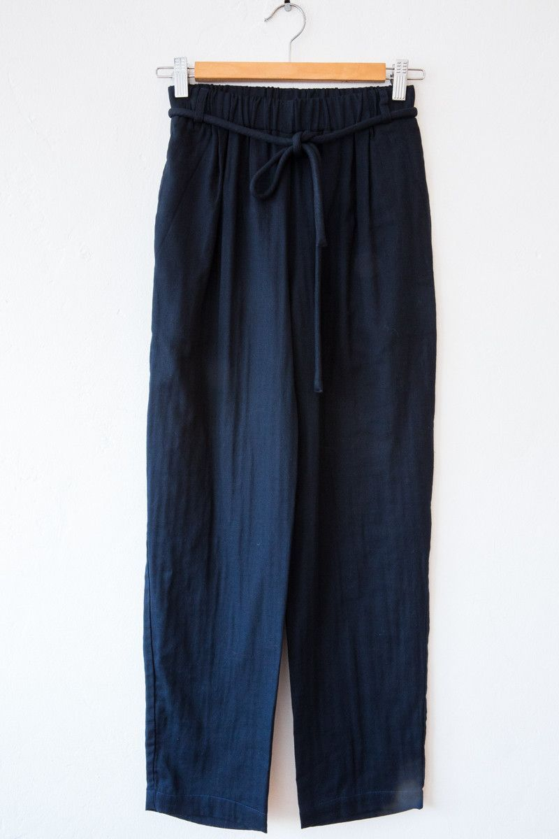 wrk shp navy corded pant