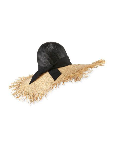 75220e4b0 Endless Ete Raffia Sun Hat Natural   VacationWear   Sun hats, Raffia ...