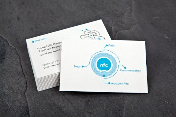 The moo nfc business card offers users a more alluring experience the moo nfc business card offers users a more alluring experience than manually typing in reheart Images
