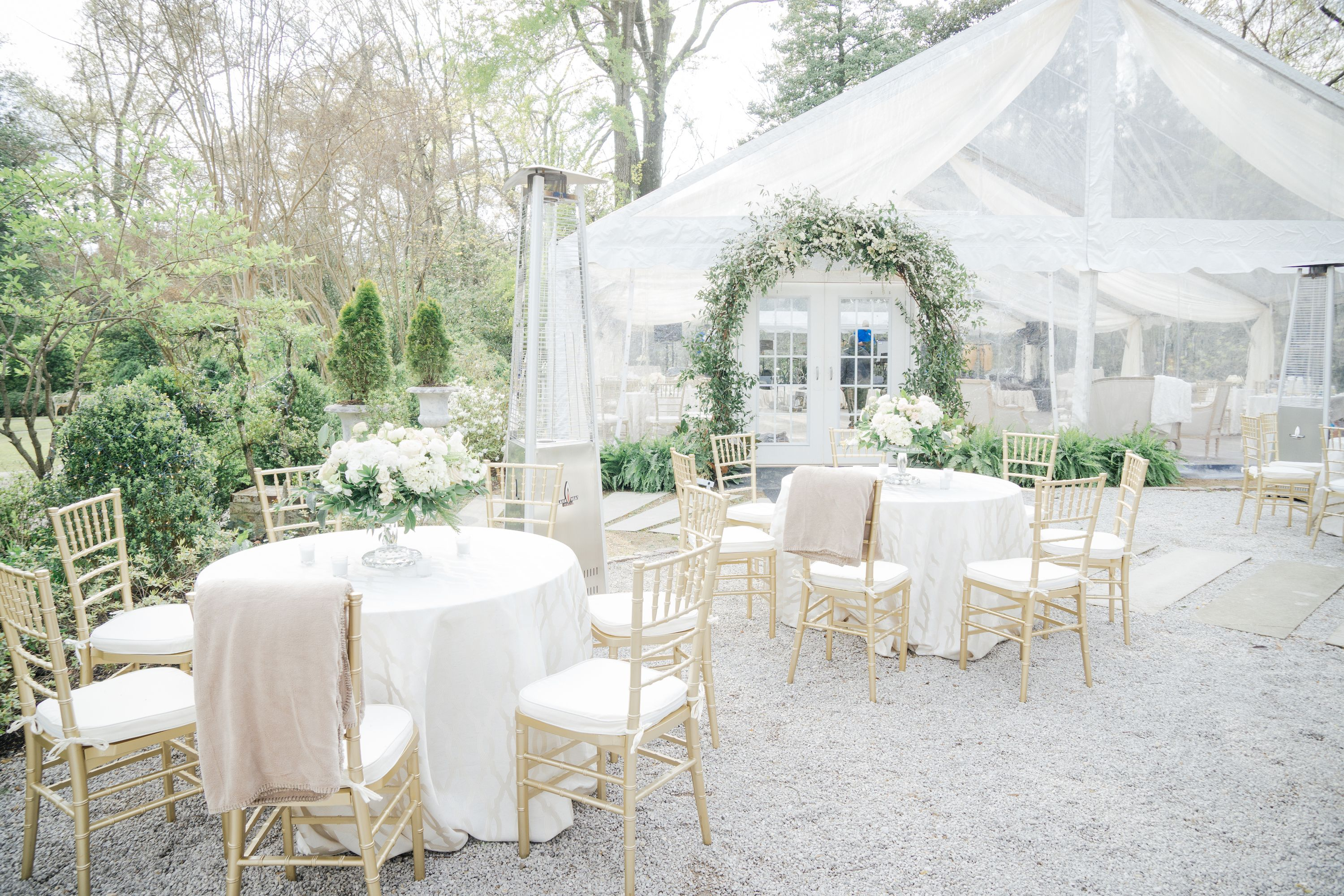 Romantic + Whimsical Dining | Outdoor Wedding Reception & Tent Decor ...