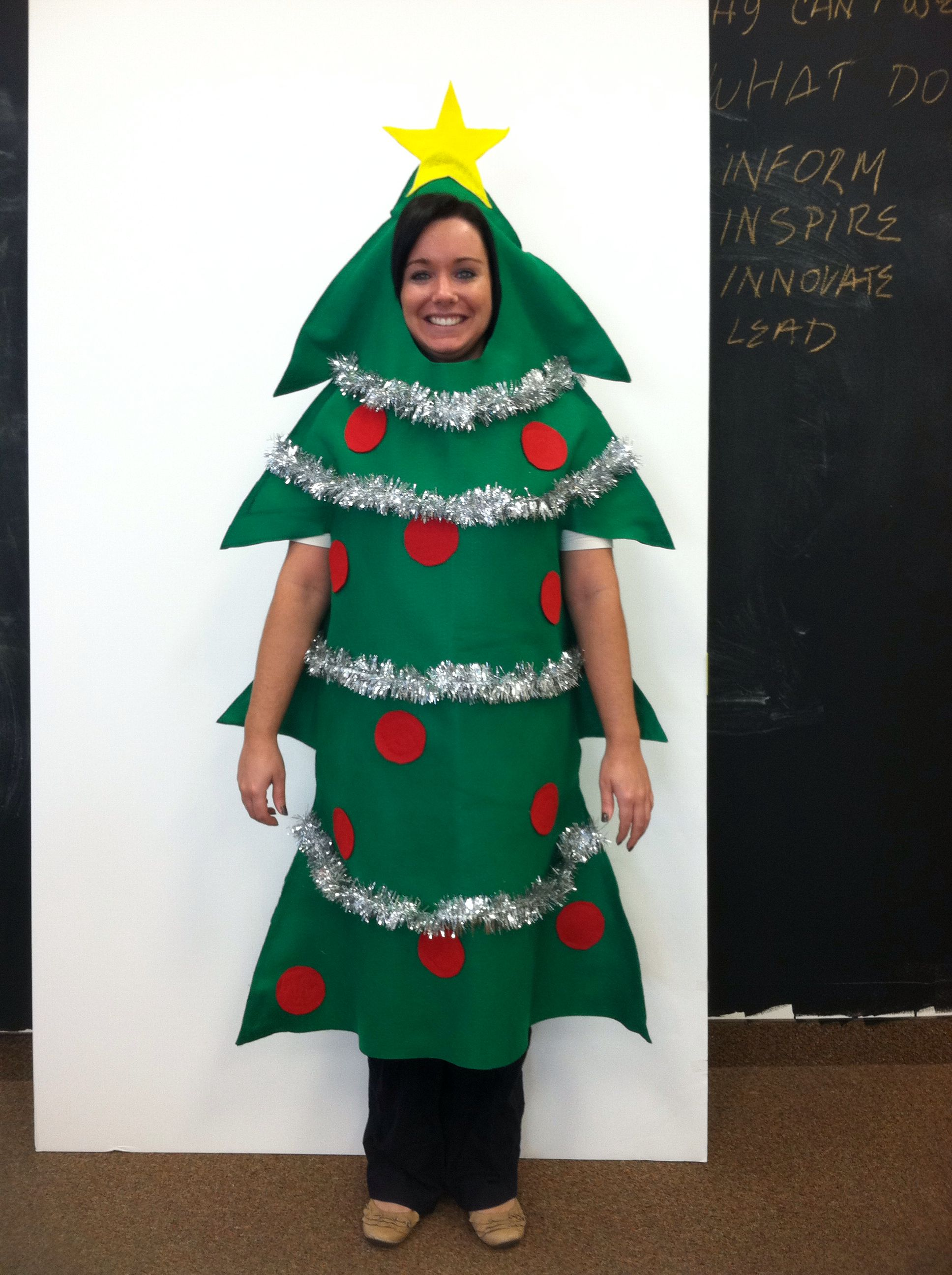 Christmas Tree Custom Made Costume Felt My Creations