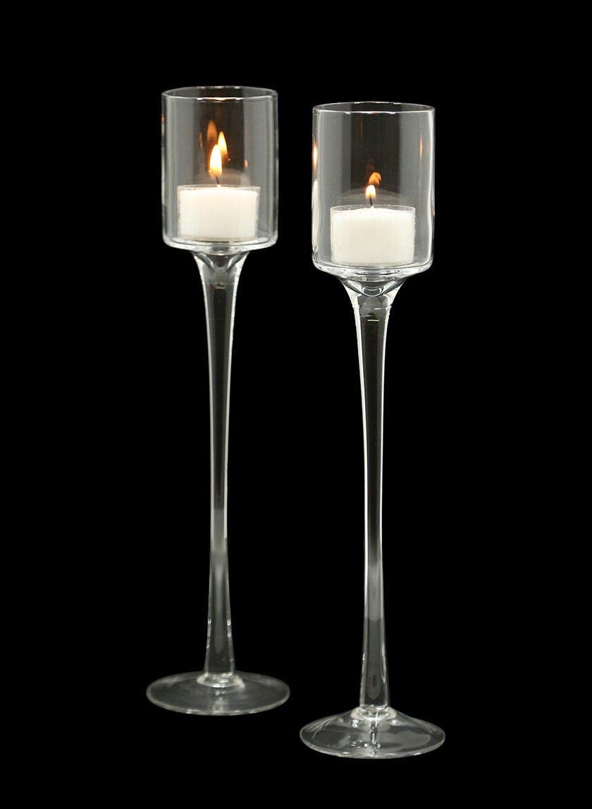 e632022253 Glass votive tea light holder 10-Hour- 15-Hour votive candle Deep Tea Light  Clear Holder wedding reception table centerpiece NYC bar party event decor