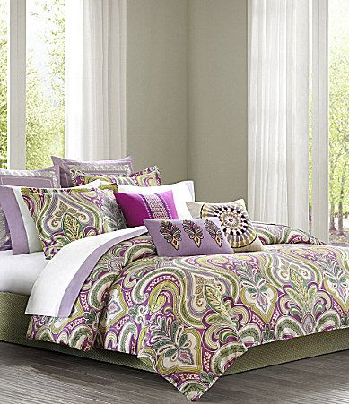 Echo Vineyard Paisley Bedding Collection Love The Colors