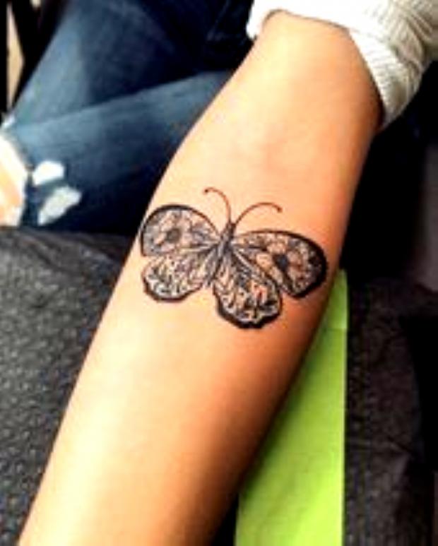 Photo of Schmetterling Tattoo Ideen zur Darstellung der Transformation – Seite 1 … – Butter … – …
