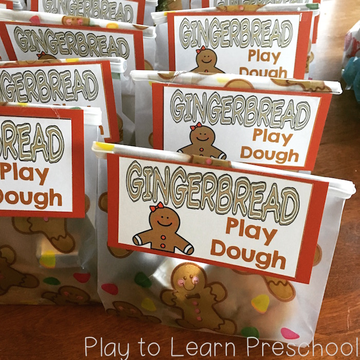 Soft, Sweet Gingerbread Play Dough Play dough gift