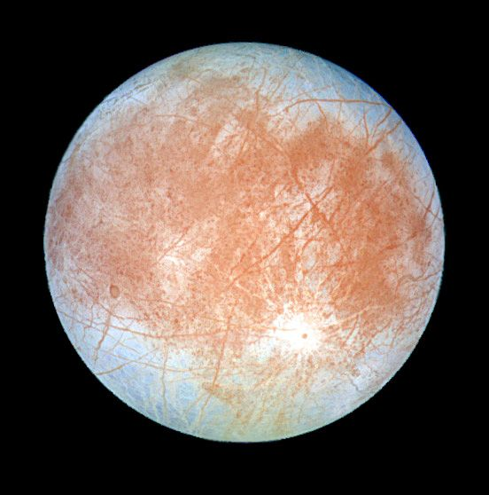 Europa Cosmos Space Astronomy Planets And Moons