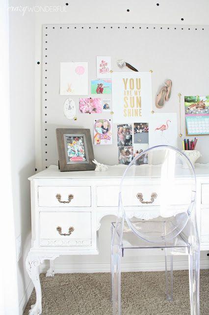 Izzy S Bedroom Desk For Girls Room Desk Design Girl Bedroom