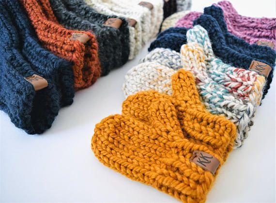 Mitten Pattern // Knitting Pattern // Knit Mitten Pattern // Mittens ...