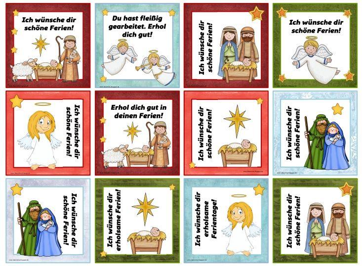 Weihnachtliche gru k rtchen neuauflage diese for Weihnachten grundschule ideen