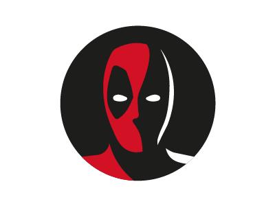 Dp Deadpool Logo Art Deadpool Logo Dark Art Drawings