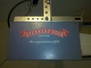 Overhead Brand Opener Model 456 Side View Garage Door Remote