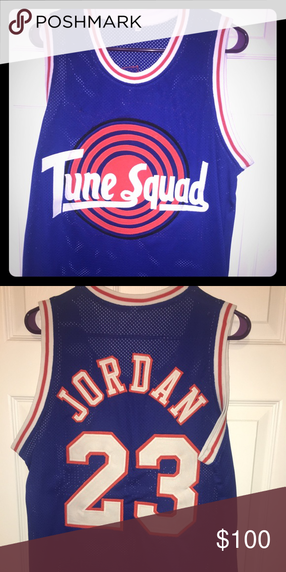 5dff144498a Michael Jordan Tune Squad Space Jam Jersey Worn once. Accepting offers.  Shirts