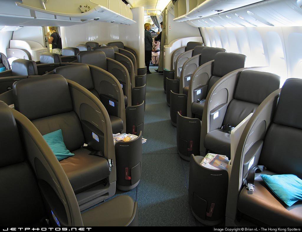 Air New Zeland Boeing 777 Business Class Aircraft