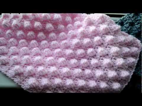 Noppen Haken Crochet Bobble Stitch Noppen Häkeln Youtube