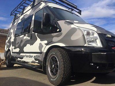 Xplora Overlander Ford Transit 4x4 Camper Van Motor Home
