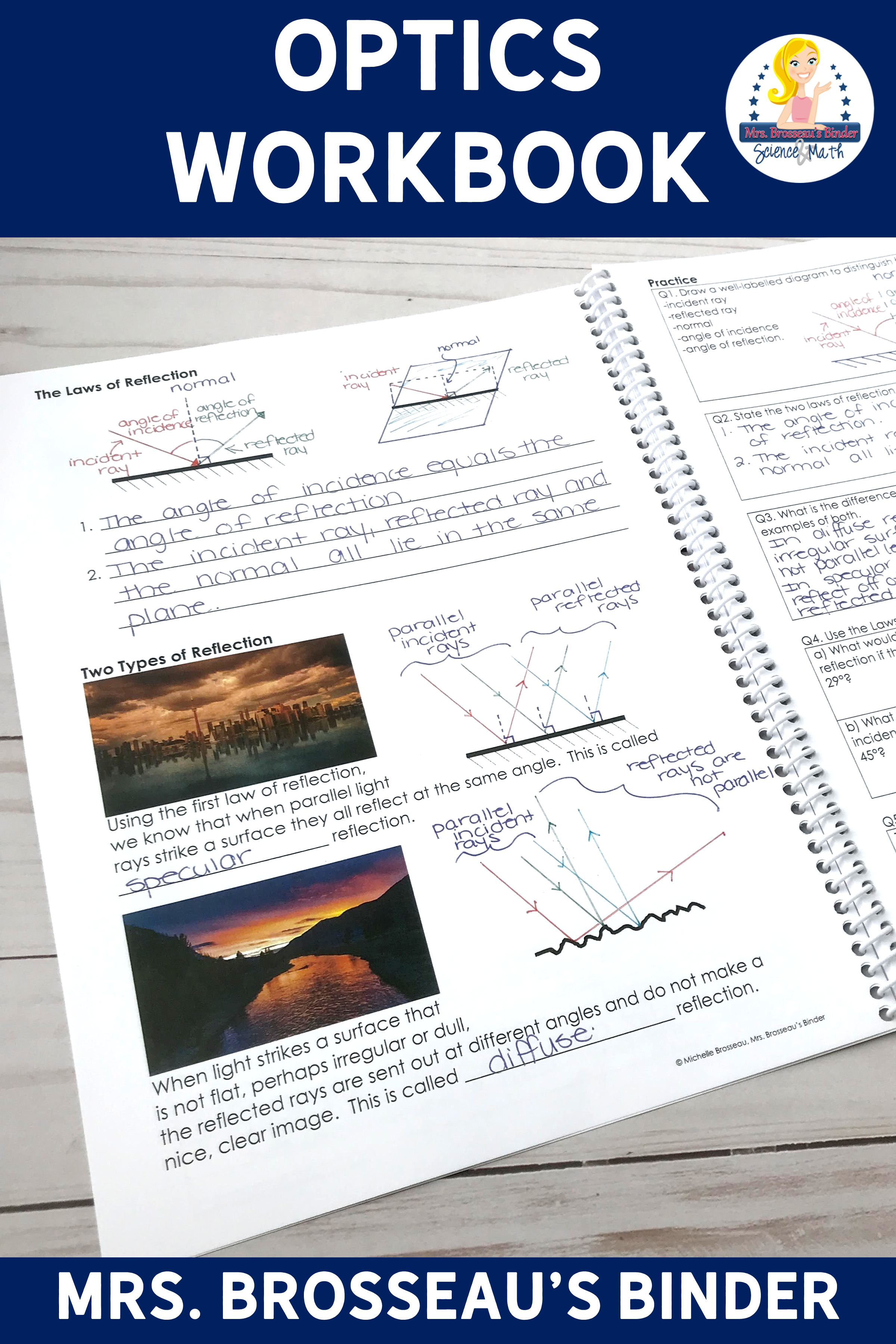 Optics Workbook