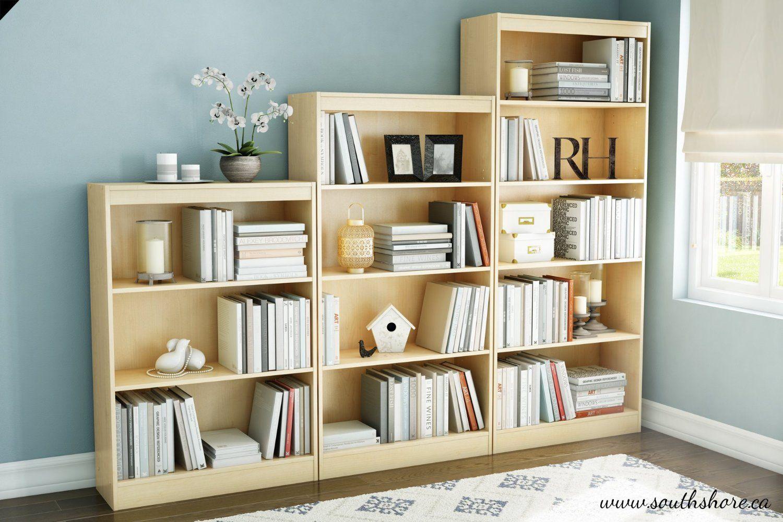 Amazing Amazon.com   South Shore Axess Collection Bookcase, Natural Maple, 4 Shelf