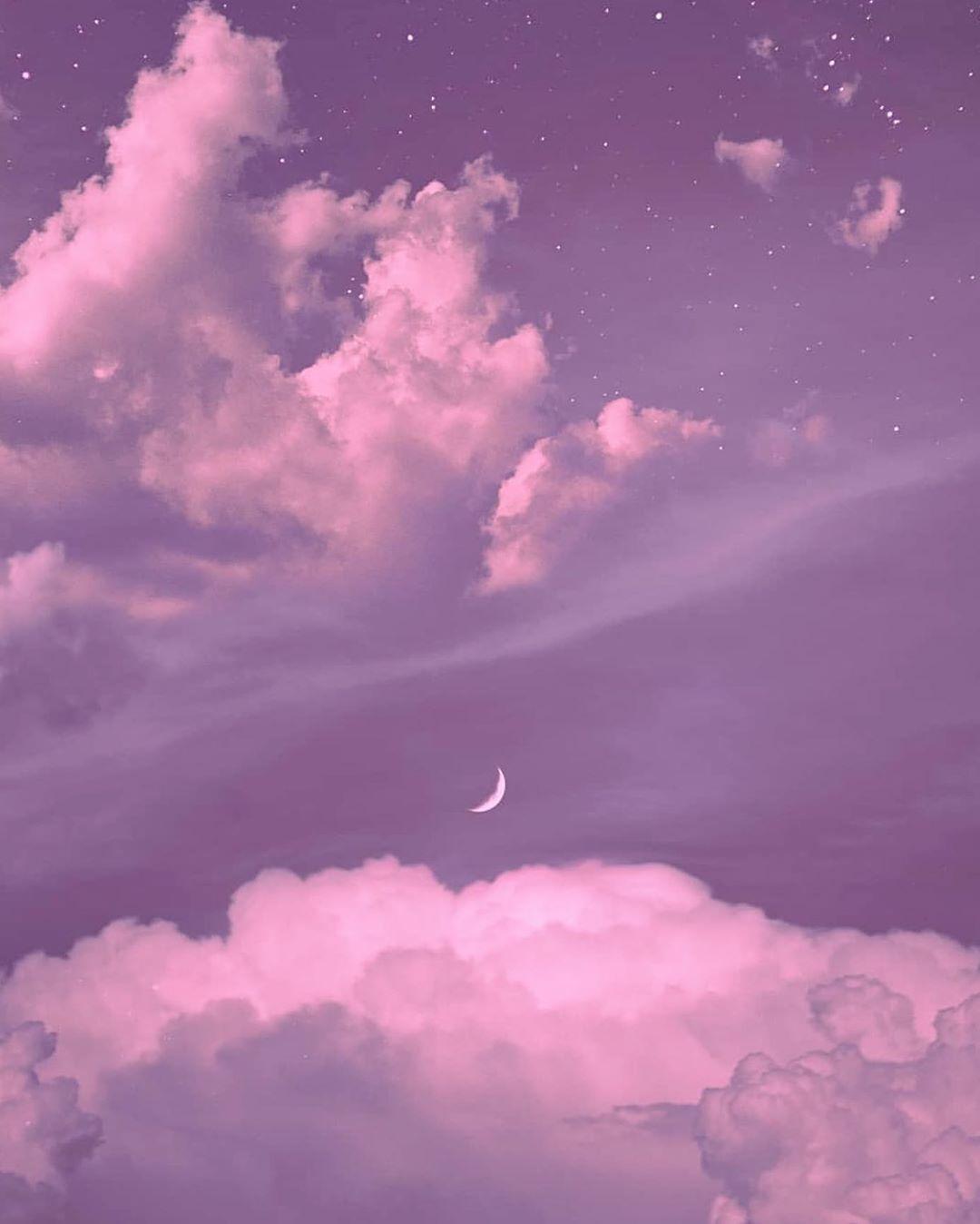 Pin By Garden Design On Travel Sky Aesthetic Aesthetic Pastel Wallpaper Purple Wallpaper Cute purple aesthetic wallpaper clouds