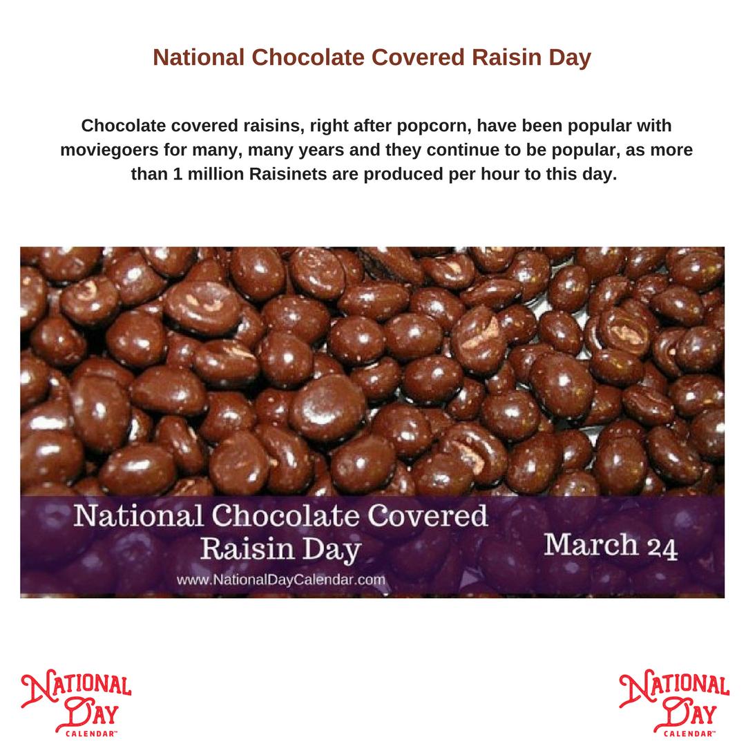 Pin By Charlene Underwood On Celebrate Every Day Chocolate Covered Chocolate Covered Raisins Raisin