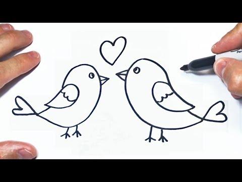 Pin De Mara Puescas Rojas En Bocetos Pajaritos Enamorados Dibujos De Pajaro Pajaritos Para Dibujar